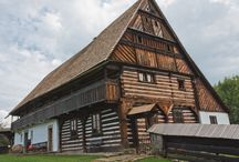 Traditional folk architecture in Bohemia, Moravia and Silesia / Traditional houses, cottages, farms etc. in the Czech Republic - Vernacular architecture - Czech Republic