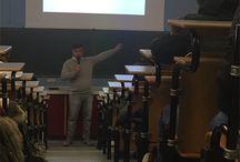 Consigli per la Crescita / Incontro rivolto all'orientamento, tenuto da Massimo Borrelli, CEO di Qualidata Telecomunicazioni, per i ragazzi delle scuole medie rhodensi, presso l'Istituto Cannizzaro di Rho