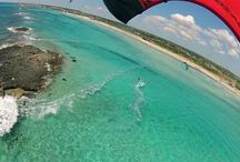 Kitesurf a Torre San Giovanni / Scuola kitesurf a Torre San Giovanni. Corsi di kitesurf nel Salento con la scuola Salento Coast Ovest.