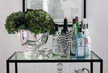 Drinkbord drinkvagn