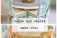 Pusse opp møbler
