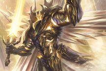 Angel dark knight