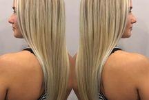 Hair by Stacey Lynn at La Salon Bianca
