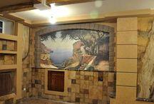 комната отдыха в цокольном этаже