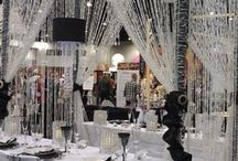 Tablescapes, White. Indian Weddings Magazine / Indian Weddings Inspirations: White Tablescapes