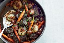 Warming Stews for Winter / From a beef stew in red wine sauce to Gail Simmons's healthy chicken stew, here are delicious hearty stew recipes. / by Food & Wine