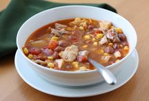 Food - Soups / by Candie Reyes