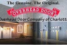 Overhead Door Company Info / We Are Charlotteu0027s Garage Door Experts! Overhead  Door Company Of
