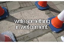 'before i die'