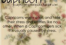 Capricorns :)