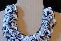 collane uniche / le mie creazioni fate all'uncinetto