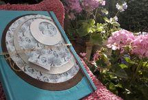 libro para bebé / Libro artesanal para guardar fotos y escribir recuerdos del bebé. Tapas en tela de encuadernación y telas preparadas, combinadas con papel. Interior de hojas bookcel para escritura y hojas blancas para fotos con protección de papel vegetal. sobre de guardado al fondo. Elastico de cierre, cabezadas y cinta marcadora al tono