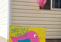 First Birthday/Bird Party