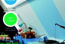 Kinderen (slaapkamer) / Kleuren en decoratie kinderkamers jongens en meisjes