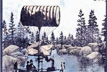 Steampunk Karten