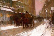 Frederick Childe Hassam / American  artist (1859-1935)