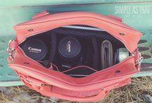 Stylish camera bags