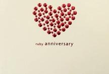 Cards- Wedding anniversary / by Inky Jane