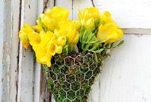 Frühling Sommer Türdeko