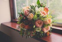 Wedding Flower Inspiration / Beautiful Wedding Flowers and Bouquets