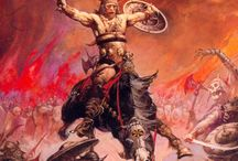 Old School Fantasy & Badassery / Swords 'n stuff. Epic stuff.