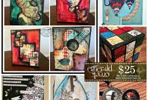 Emerald Creek DT Creations / amazing projects designed with Emerald Creek Craft Supplies!