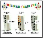 Domino FAQ's & Rules / There are as many rules and variations as there are train groups. Read the rules and the strategy sections for tips on playing Mexican Train dominoes - http://www.mexicantrainfun.com/rules.html