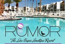 Rumor Pool Las Vegas / The Rumor Las Vegas pool is perfect for relaxed lounging or enjoying the pool party scene. Hide out in a seductive private cabana or be seen sunning on a poolside chaise with a cocktail from the bar. By day, the sun and sparkling water sooth and energize just steps from your Rumor suite. By night, it transforms into a happening hideaway with deejays spinning under shimmering lights.