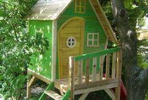 Kinder-Spielhaus