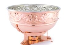 Copper Cookware / Beautiful Hand-Made Copper Cookware from Italy