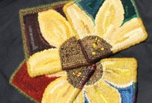 Rug hooking Ideas / by Patty Smyth