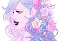 Miss Bellerose / Beauty bell flower.