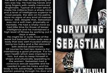 Surviving Sebastian / Teasers from Surviving Sebastian, my current work in progress.