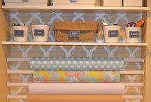 Lets Get Organized  / Home organizational tips for every part of your home.