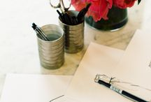 desk design / great desks / by Sarah Stuart