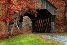 covered bridges / by Cassie Dilbert