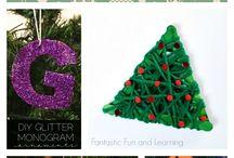 Doe-het-zelf Kerst Ornamenten