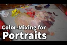 Color-mixing for portraits