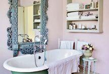 Vintage home / #Vintage, #antique #interior. #furniture #shabby