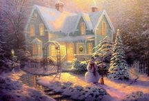 Thomas Kinkade / by Debbie Drake