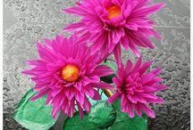 Flower form Straw