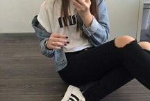outfits / the style that I want.