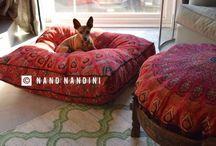 mandala Dog bed cover