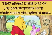 Pooh and friends!