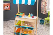 play kitchen / by Catherine Delp