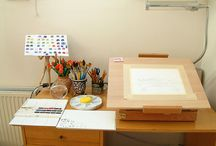 My Someday Studio / { A place for my creative process } / by Leti Tellez