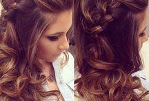 penteados com trança.