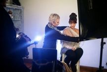 Backstage / Behind the shutter!!  Photoshooting time!