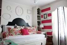 Bedroom Drama / Ever feel like you just want to blow your room up and start all over again? Get some serious bedroom inspiration here.