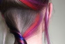 METAREFLEX / Окрашивание волос с яркими прядями.